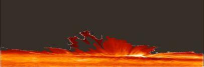 الشعب بركان يتوهج